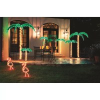 Roman, Inc. Tropical Lighted Holographic Rope Light ...