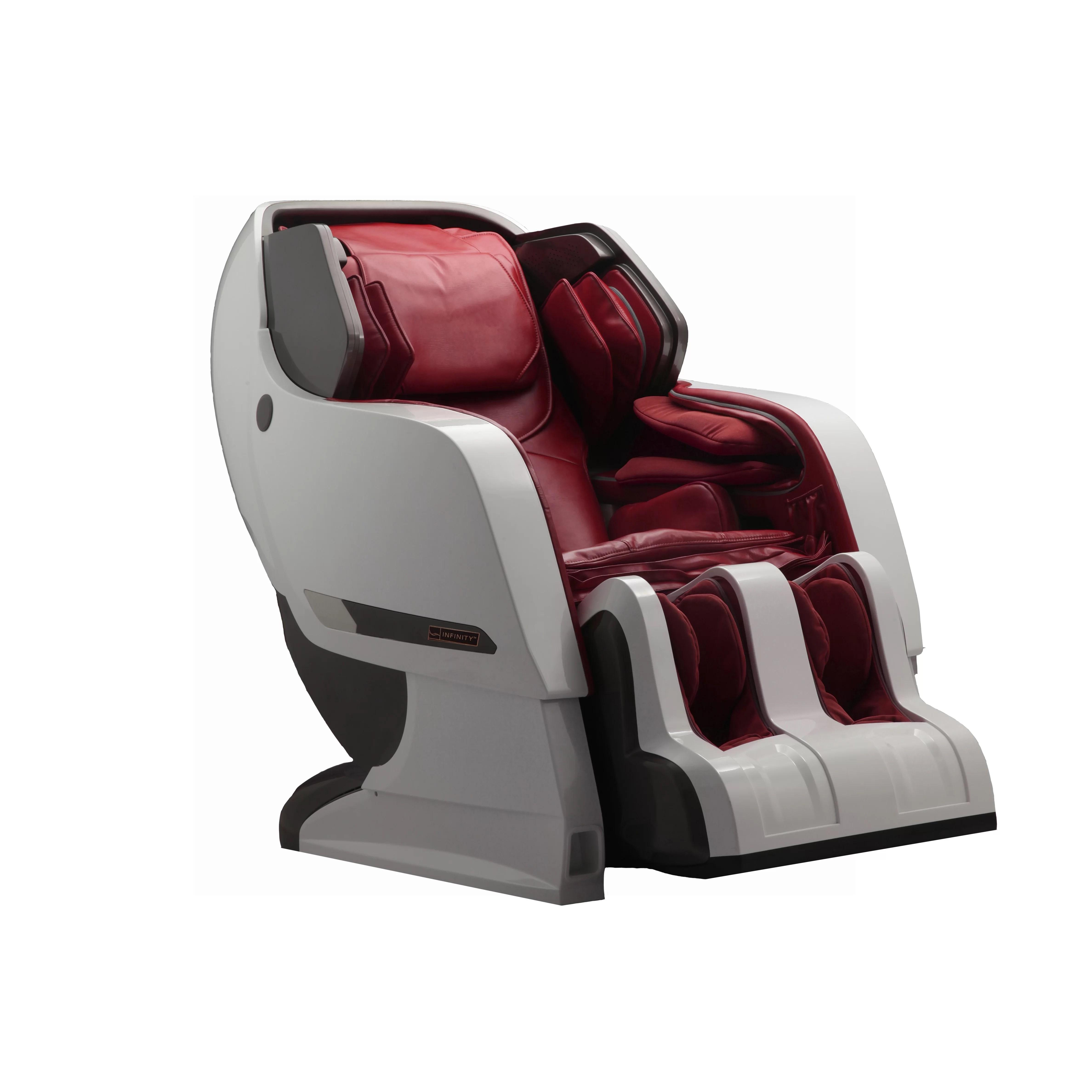 reclining massage chair tilt back infinity it iyashi pu leather
