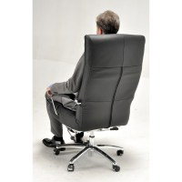 Lafer Josh Leather Executive Chair | Wayfair