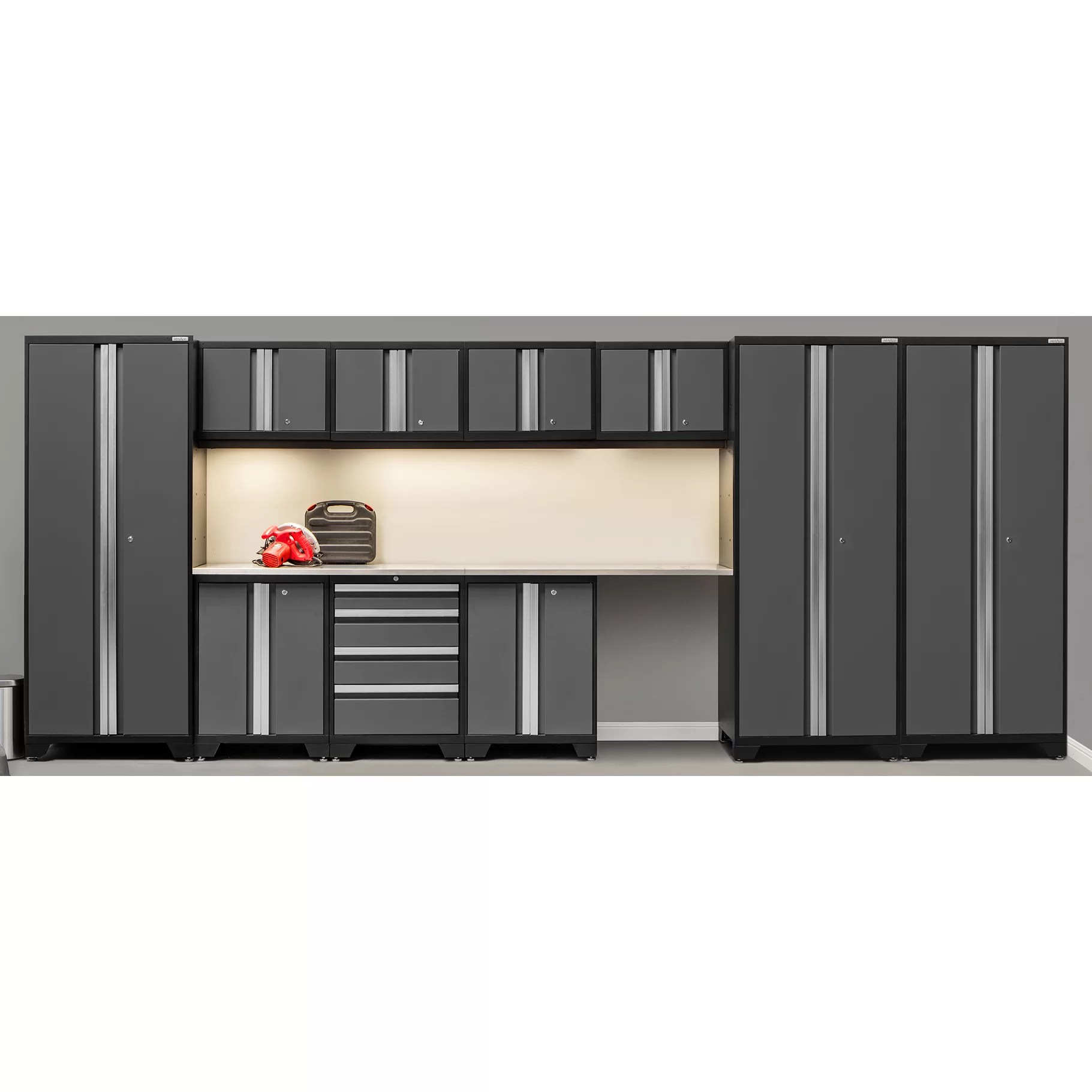 NewAge Products Bold 30 Series 12 Piece Garage Storage