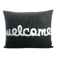 "Alexandra Ferguson Celebrate Everyday ""Welcome"" Throw ..."