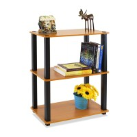 "Furinno Ultra 30"" Etagere Bookcase | Wayfair"