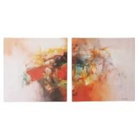 Trademark Global Color Burst Wall Art Set & Reviews | Wayfair