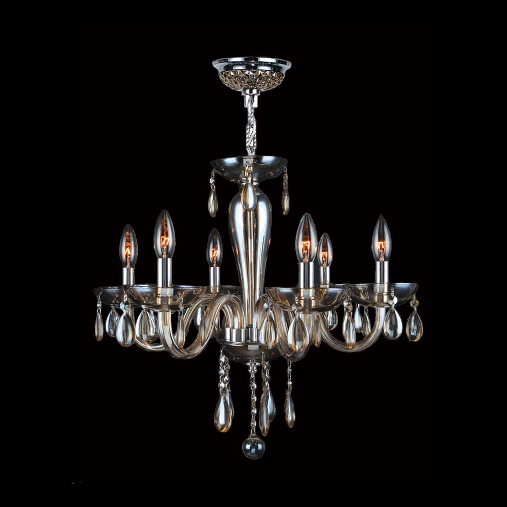 Worldwide Lighting Gastby 6 Light Chandelier & Reviews