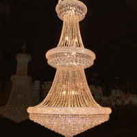 Worldwide Lighting Empire 38 Light Crystal Chandelier ...