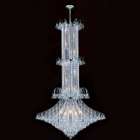 Worldwide Lighting Empire 20 Light Crystal Chandelier ...