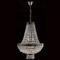 Worldwide Lighting Metropolitan 6 Light Crystal Chandelier