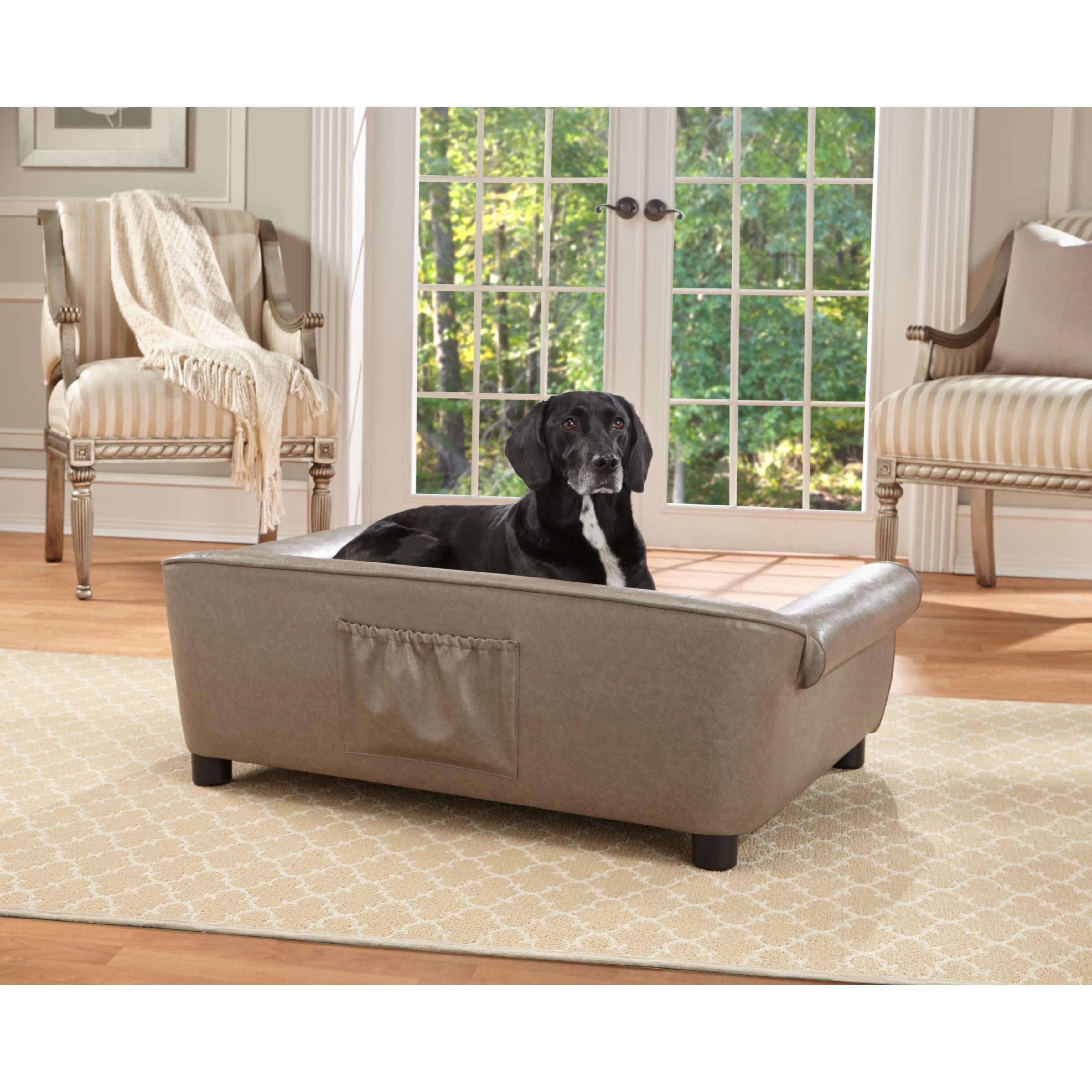 enchanted home mackenzie pet sofa abingdon laura ashley rockwell dog and reviews wayfair