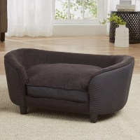 Enchanted Home Pet Hudson Dog Sofa with Cushion & Reviews ...