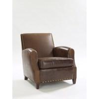 Leathercraft Parisian Leather Chair | Wayfair