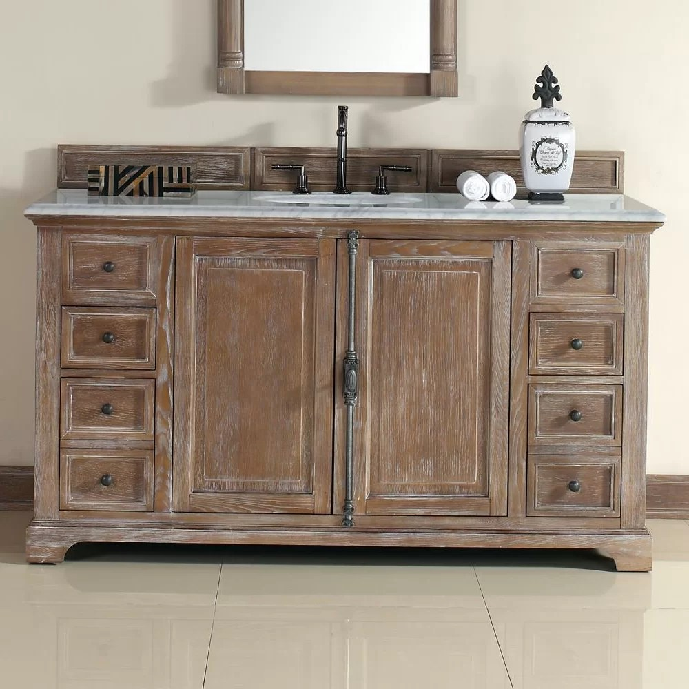 James Martin Furniture Providence 60 Single Driftwood