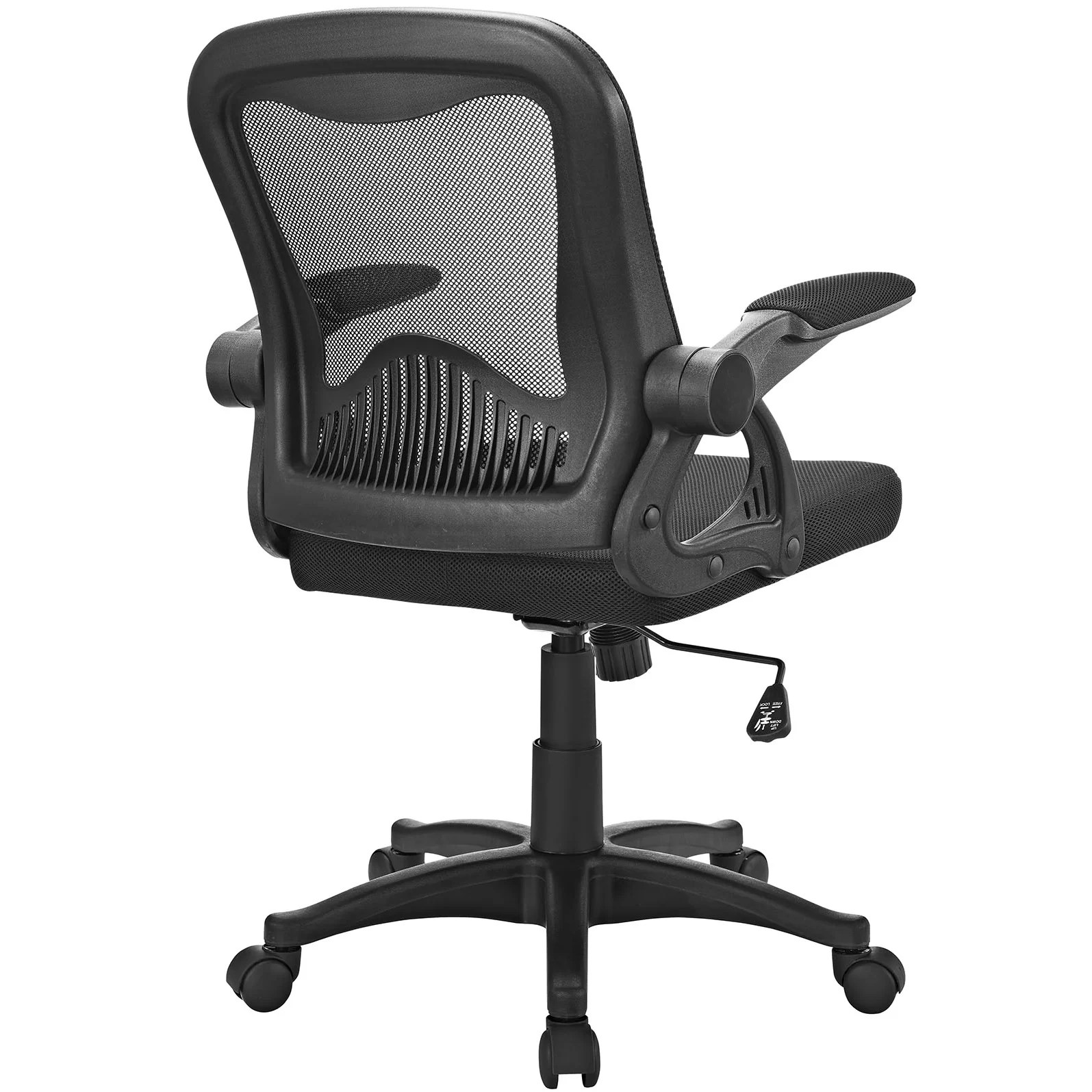 office chair reviews inexpensive waiting room chairs modway advance high back mesh and wayfair
