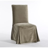 Classic Slipcovers Royal Dining Chair Skirted Slipcover ...