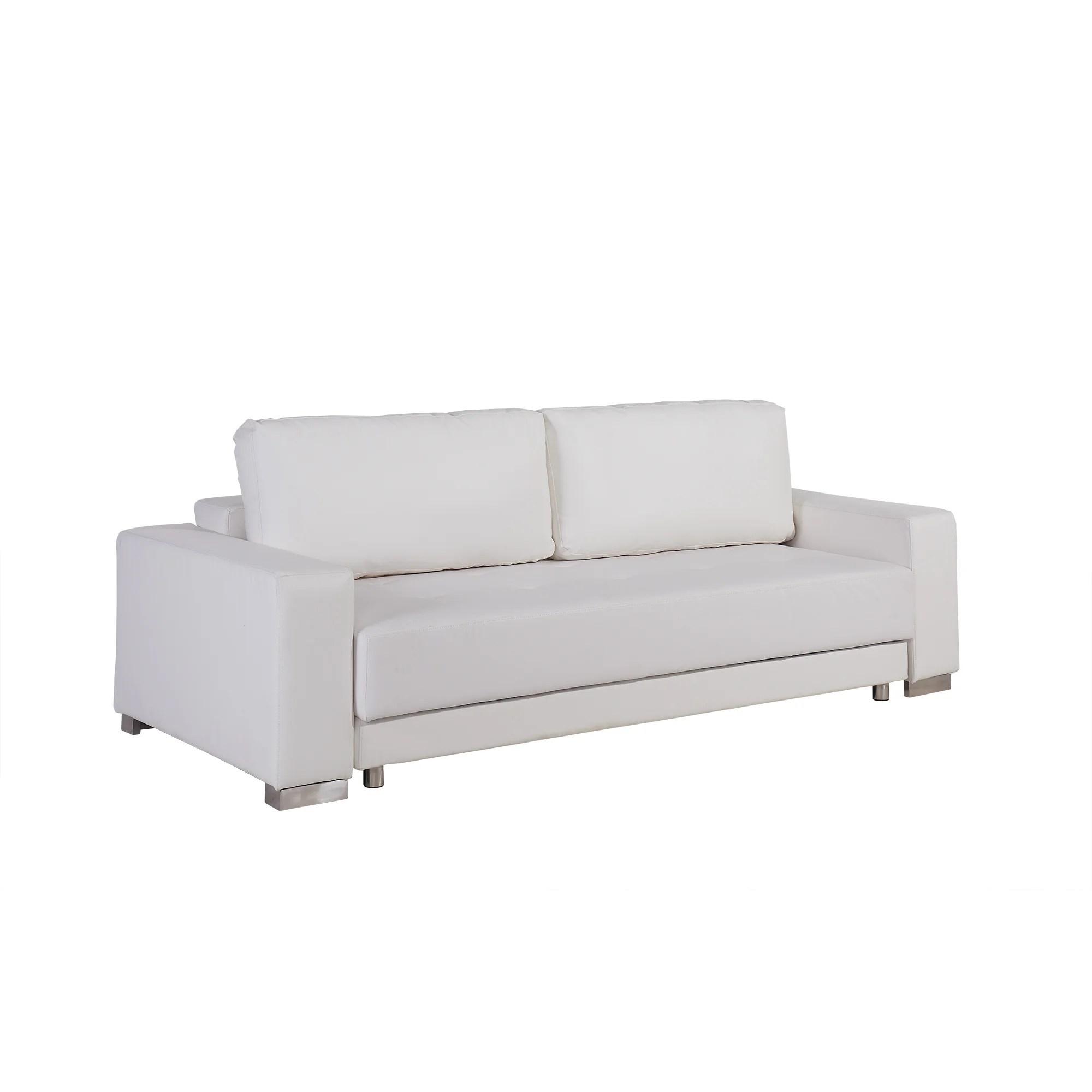 bianca futon sofa bed review olive green velvet chesterfield casabianca furniture cloe sleeper wayfair