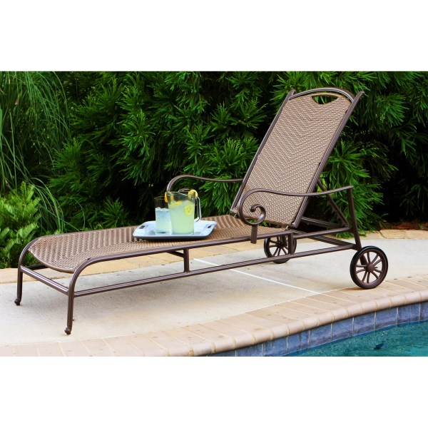 Tortuga Outdoor Stonewick Chaise Lounge &