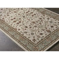 AMER Rugs Cardinal Ivory / Seafoam Pius Area Rug & Reviews