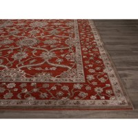 JaipurLiving Fables Red/Gray Area Rug | Wayfair