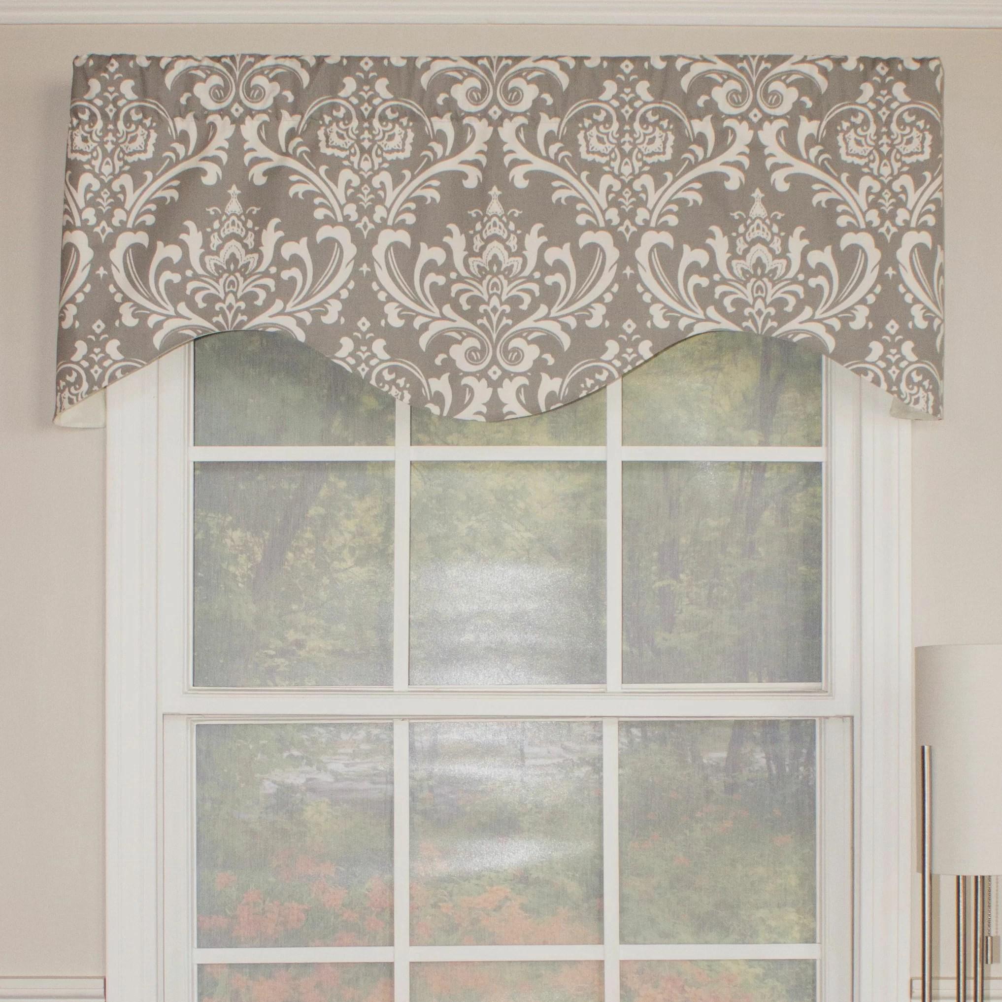 Rlf Home Royal Damask Cornice 50 Curtain Valance