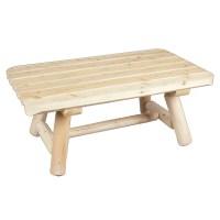 Rustic Cedar Rectangular Cedar Coffee Table & Reviews ...