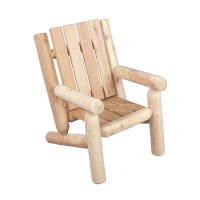 Rustic Cedar Junior Cedar Log Arm Chair & Reviews | Wayfair