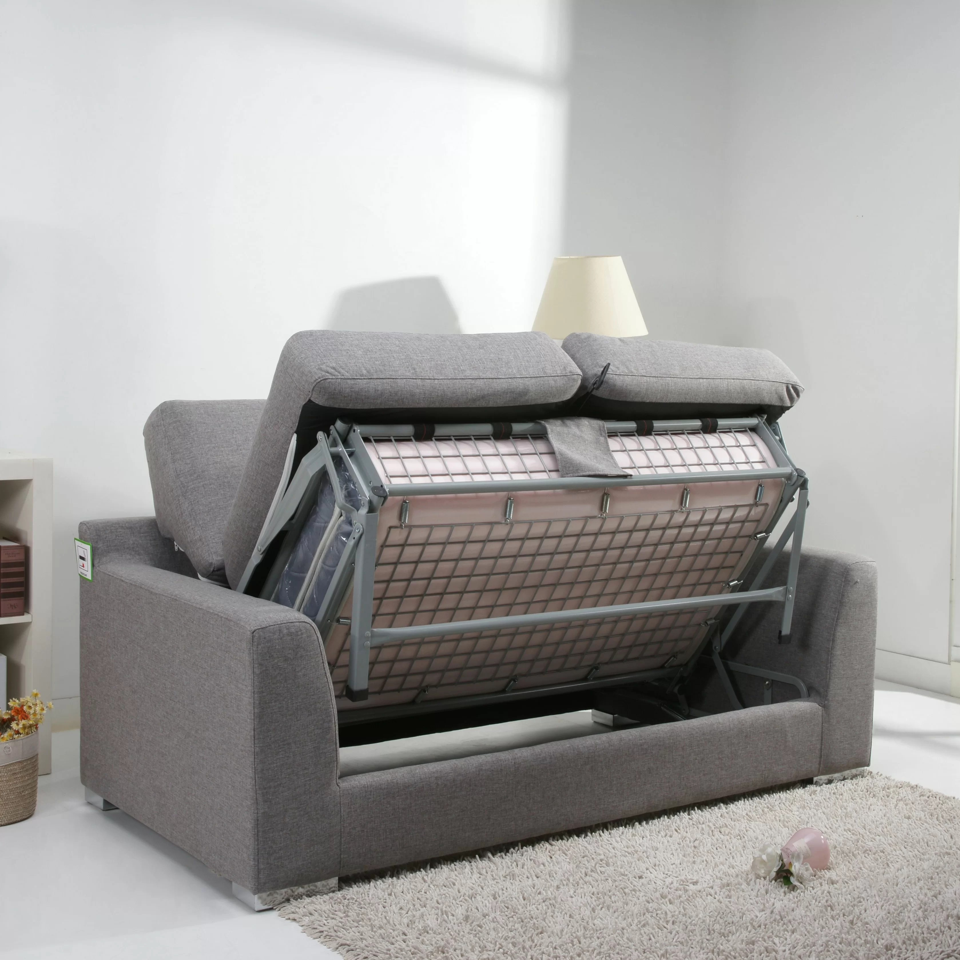 fold out sofa bed murphy mechanism leader lifestyle paris 2 seater