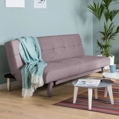 Victoria Clic Clac Sofa Bed Review How To Make Slipcovers Stay In Place Leader Lifestyle Johansson 3 Seater