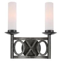 Crystorama Odette 2 Light Wall Sconce | Wayfair