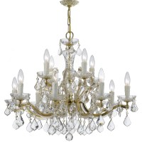 Crystorama Maria Theresa 12 Light Crystal Chandelier
