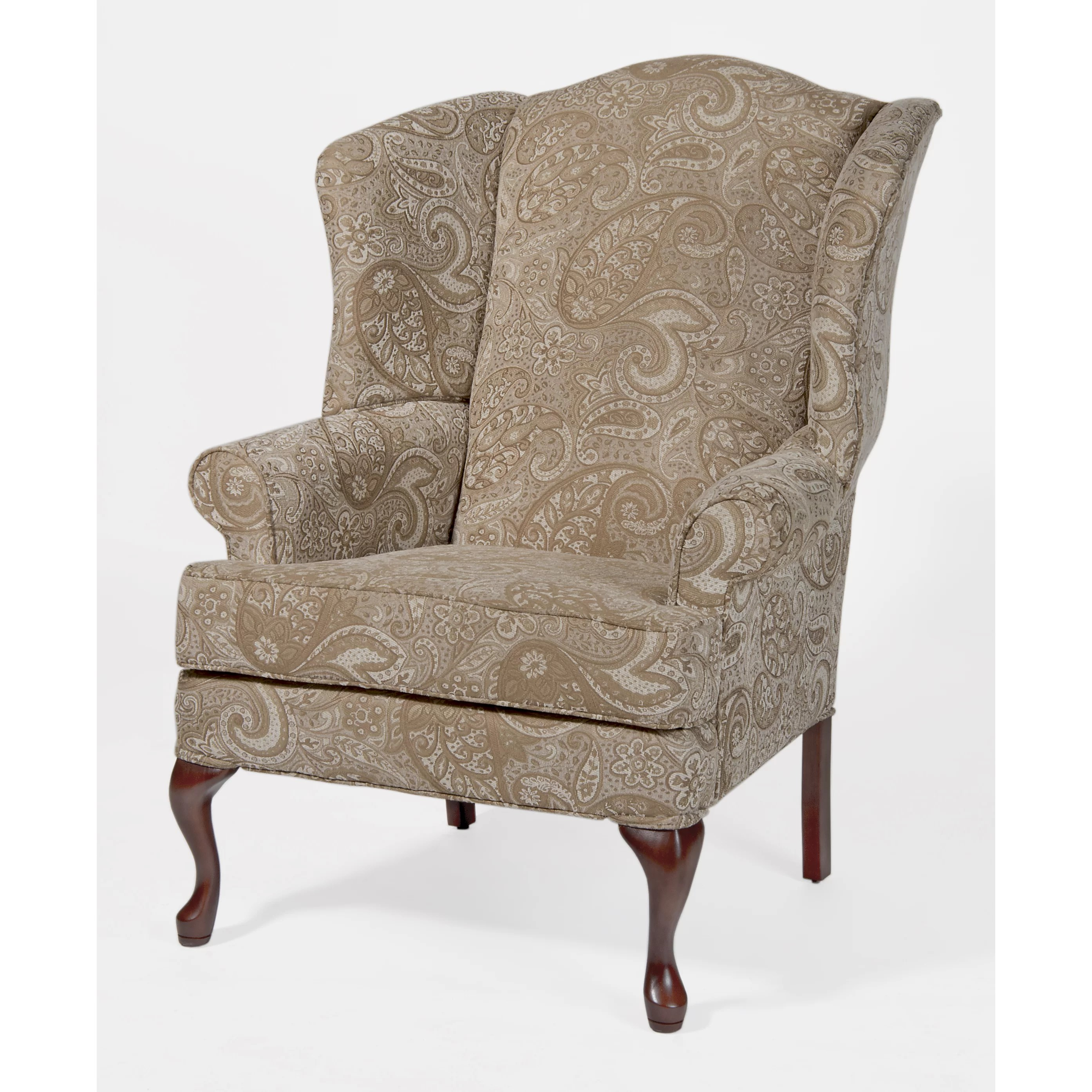 Wayfair Wingback Chair Comfort Pointe Paisley Wingback Chair Wayfair