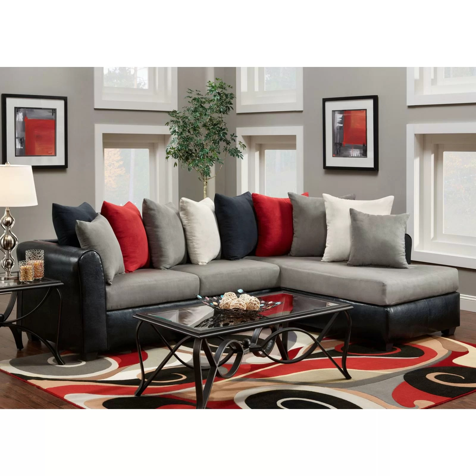 room and board chelsea sofa crushed velvet northern ireland home corianne sectional reviews wayfair