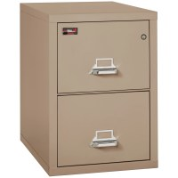 FireKing Fireproof 2-Drawer 2-Hour Rated Vertical File ...