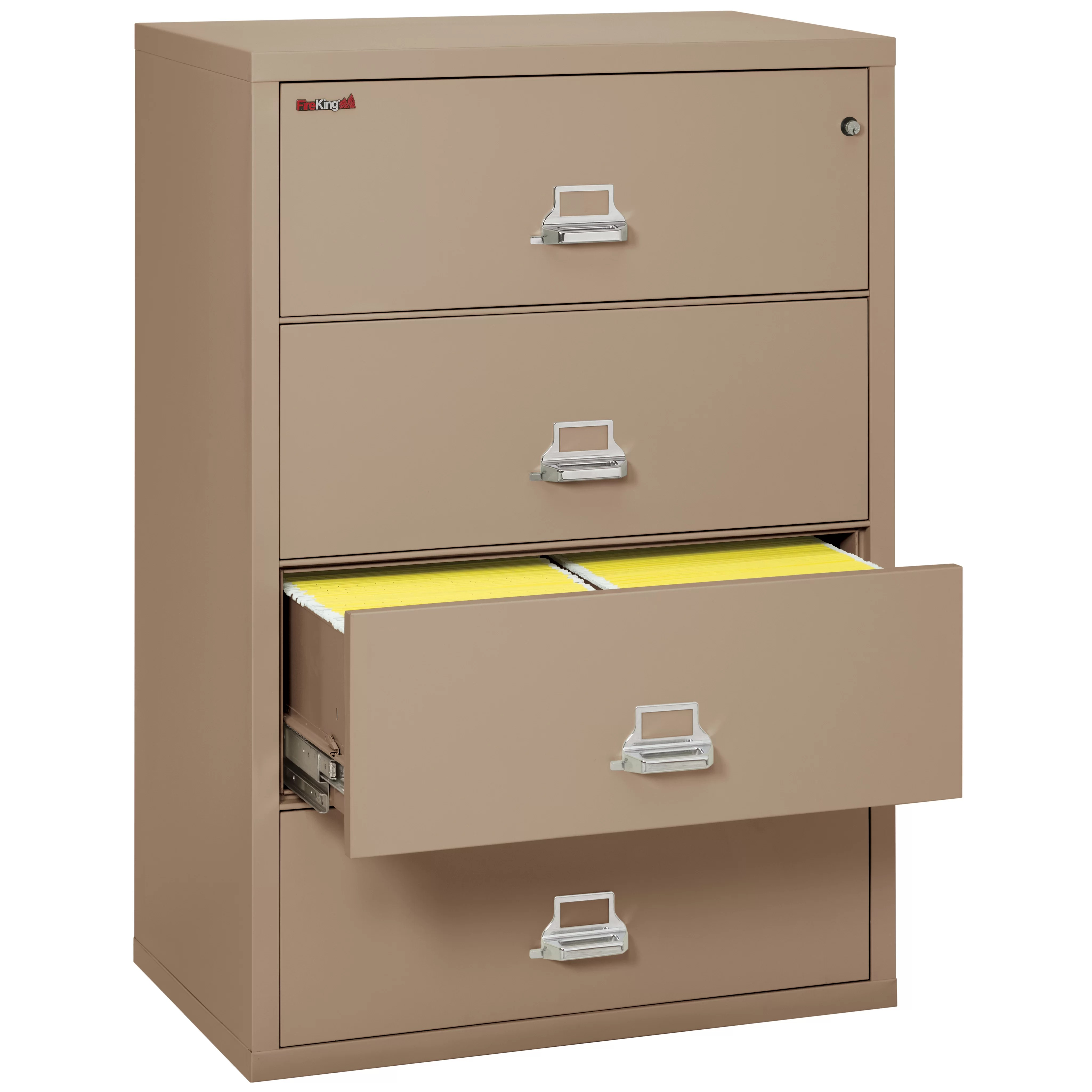 FireKing Fireproof 4Drawer Vertical File Cabinet  Wayfair