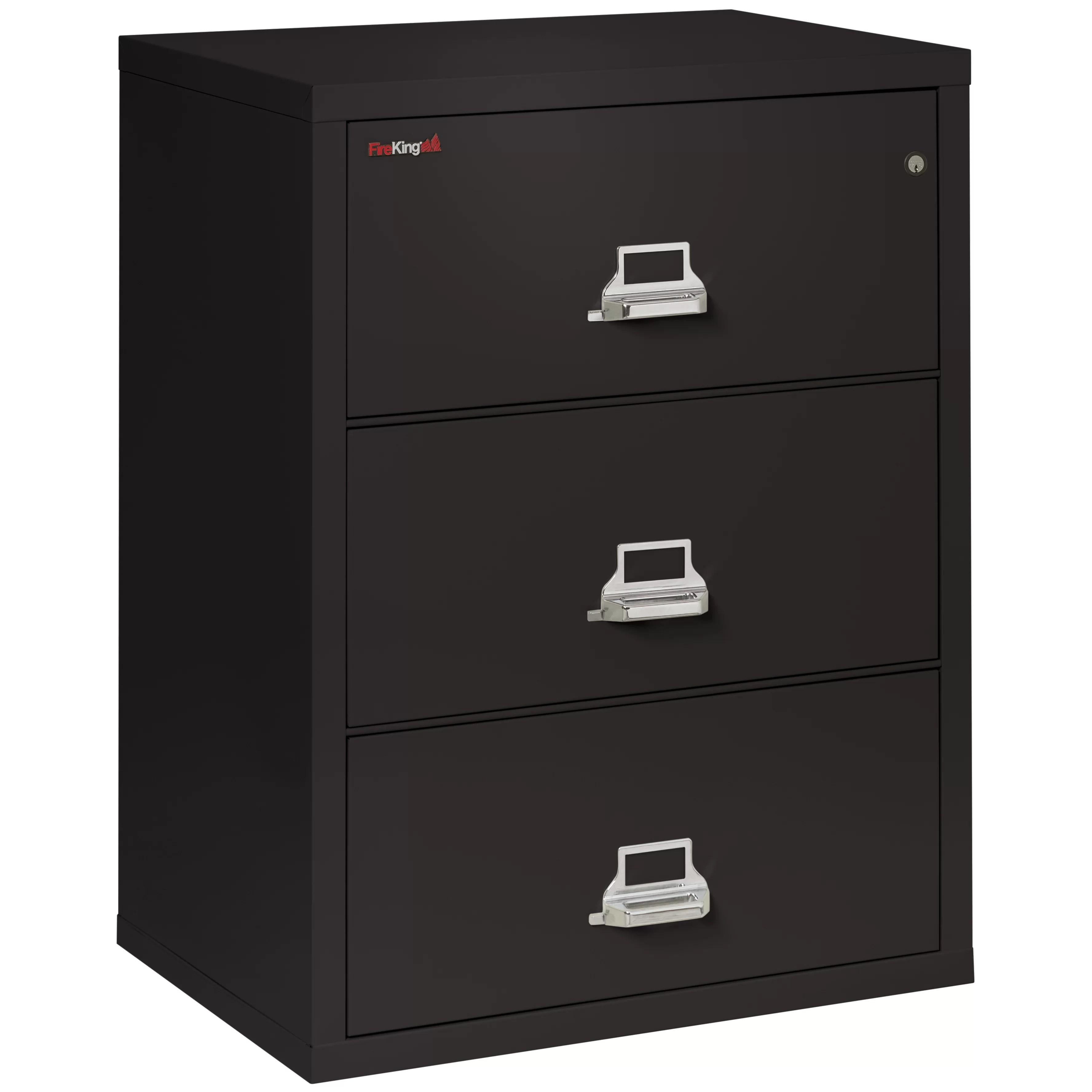 FireKing Fireproof 3Drawer Lateral File Cabinet  Wayfair