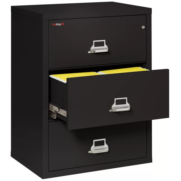 3 Drawer Lateral Fireproof File Cabinet