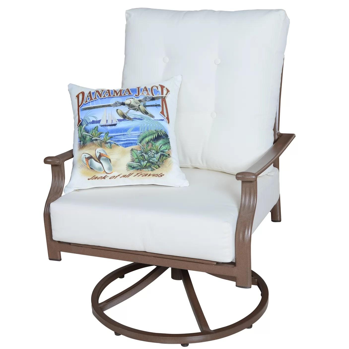 swivel chair cushions traditional chinese medicine chairman mao panama jack island breeze with