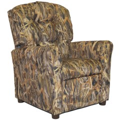Camo Recliner Chair Chicco Lime Green High Brazil Furniture Flooded Timber Kids