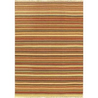 ECARPETGALLERY Kaleidoscope Red Striped Outdoor Area Rug ...