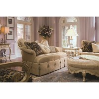Michael Amini Lavelle Loveseat & Reviews | Wayfair