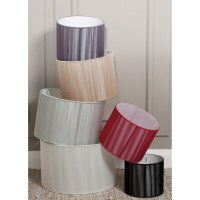 Pacific Lifestyle 40cm Modern Silky String Drum Lamp Shade ...