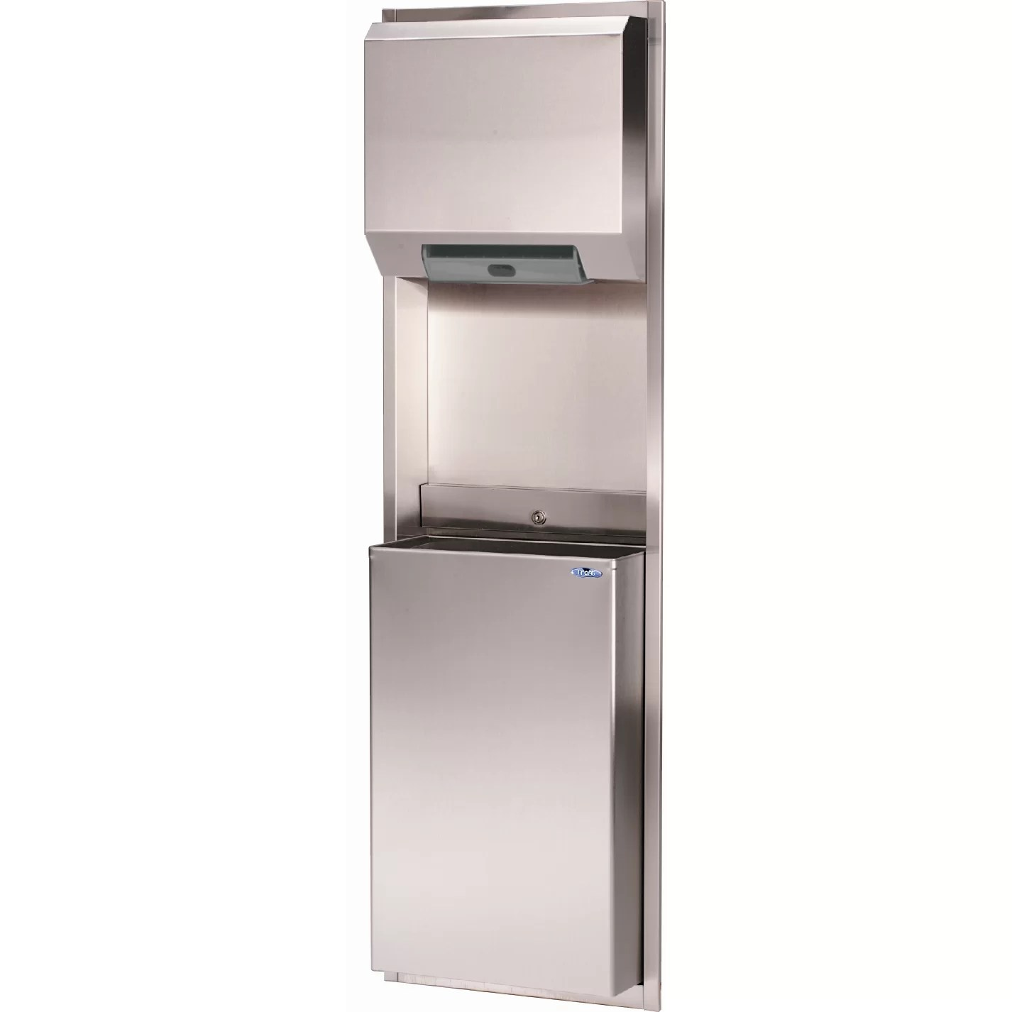 automatic paper towel dispenser for kitchen cleaning check list frost recessed wayfair ca