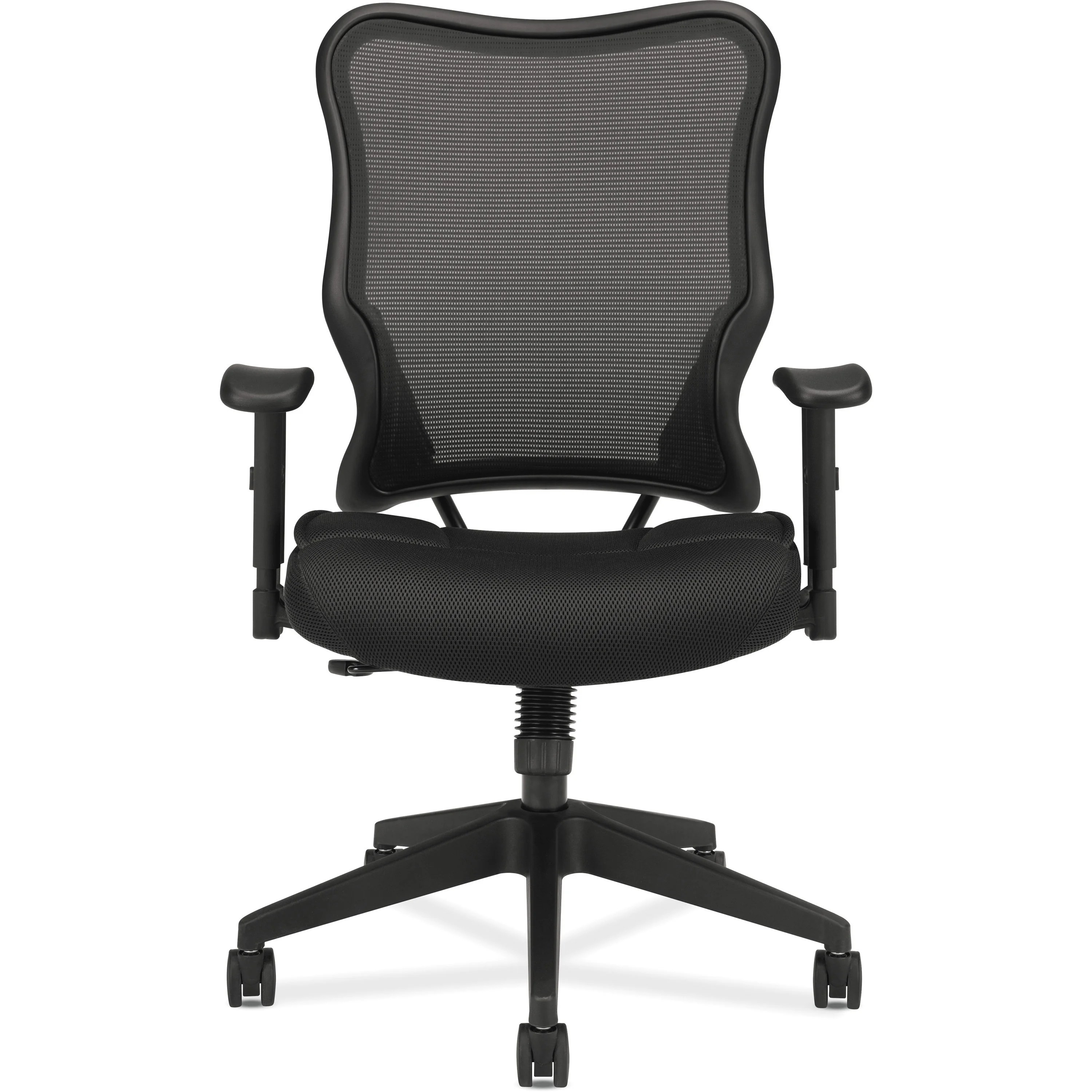 swivel chair high back cover hire cork basyx vl702 tilt work and reviews