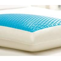 Comfort Revolution Hyrdraluxe Memory Foam Standard Pillow ...