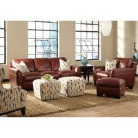 Simon Li Midtown Leather Living Room Collection & Reviews ...