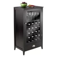 Winsome Bordeaux 25 Bottle Floor Wine Cabinet & Reviews ...