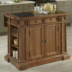 Granite Top Kitchen Island Dansko Shoes Home Styles Americana With