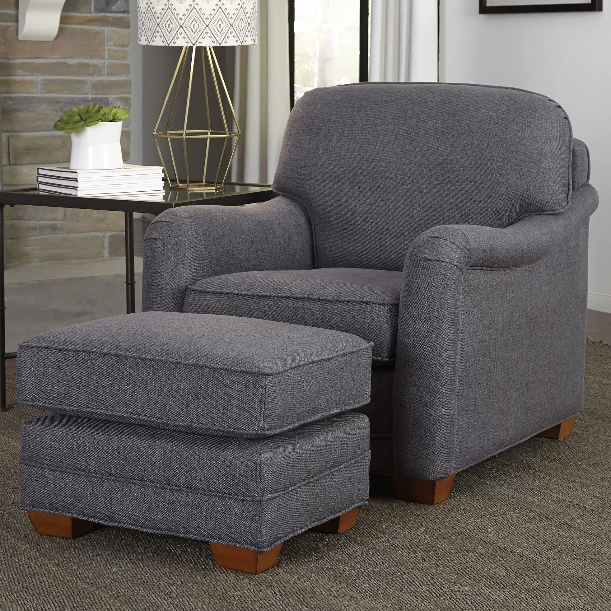 Home Styles Stationary Arm Chair and Ottoman  Reviews