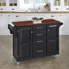 Cart Kitchen Island Coffee Color Cabinets Home Styles Create A And Reviews Wayfair
