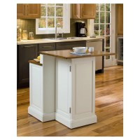 Home Styles Woodbridge Kitchen Island with Wooden Top ...