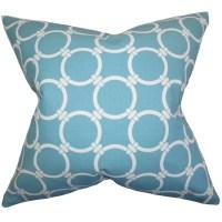 The Pillow Collection Bechet Geometric Throw Pillow ...