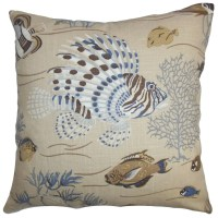 The Pillow Collection Niju Coastal Throw Pillow & Reviews ...